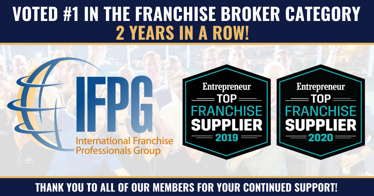 IFPG Named Number-One Franchise Broker Network By Entrepreneur Magazine For The Second Year In A Row