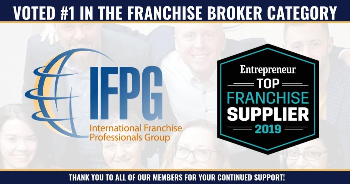 IFPG Awarded #1 Franchise Broker Group by Entrepreneur Magazine