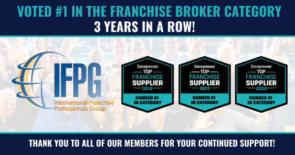 IFPG Ranked No. 1 Franchise Broker Network by Entrepreneur magazine