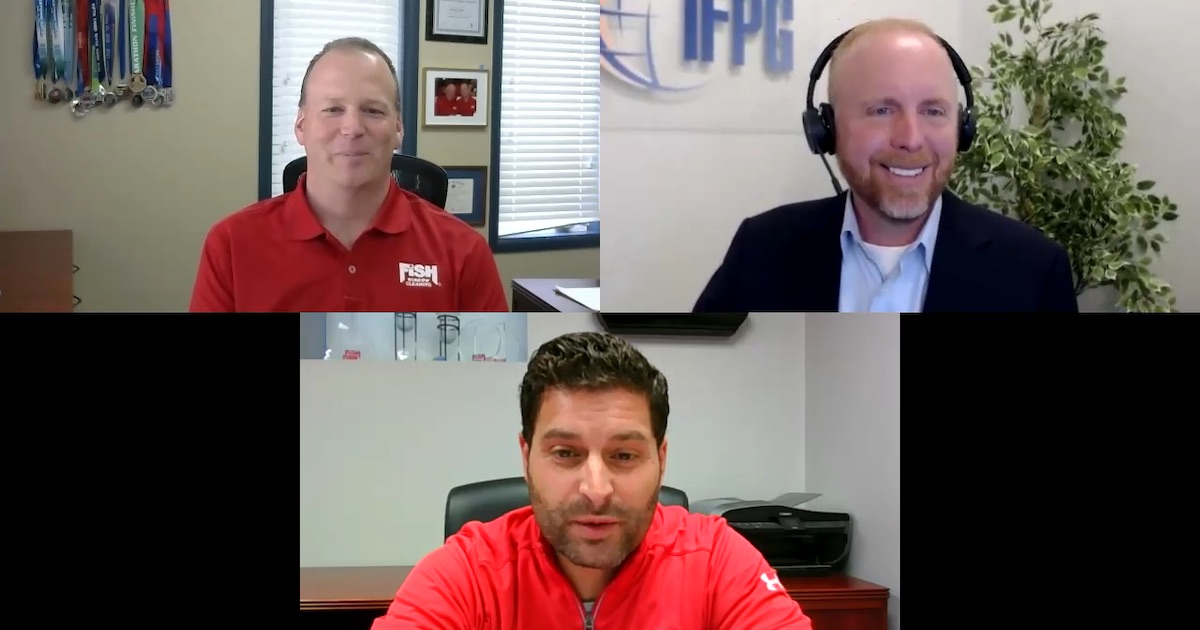 COVID-19 — Franchise Leaders Respond - Randy Cross and John English from Fish Window Cleaning