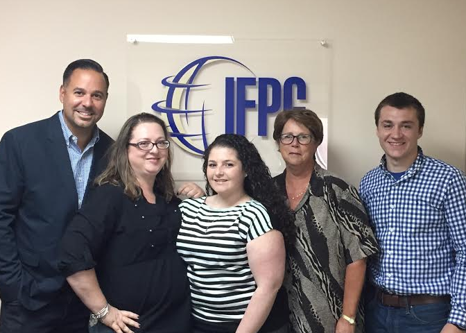 Welcome Joe our New Product Development Specialist to the IFPG Team!