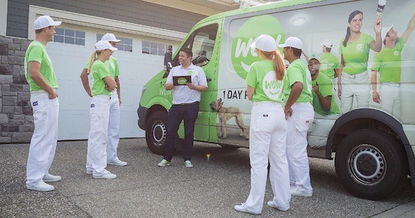 IFPG Member WOW 1 Day Painting Closes Two Deals!