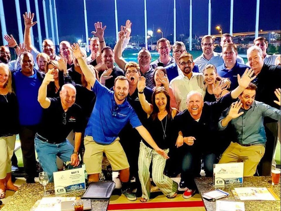 IFPG Members at Top Golf