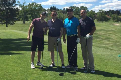 golf networking event